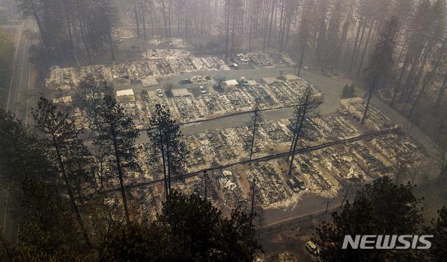 캘리포니아 산불로 최악의 인명피해 발생